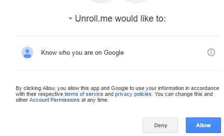 Unsubscribe gmail