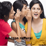 Amazon referral Earn 200₹ per you & get 100₹ who joins