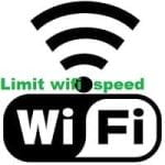 Limit wifi speed for specific ip address in wifi-router