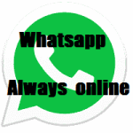 Whatsapp always online – When you are connected to internet
