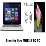 Transfer Files Android to PC without USB (Working)