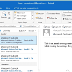 Remove Duplicate Emails in Outlook using Cleanup Utility