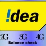 Idea balance check (All Idea USSD codes) for 2G, 3G, 4G Net balance