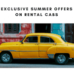 Exclusive Summer Offers On Rental Cabs