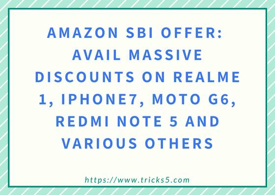 Amazon SBI Offer